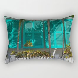 Tropical Color in Key West Rectangular Pillow