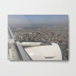 São Paulo From Above II Metal Print