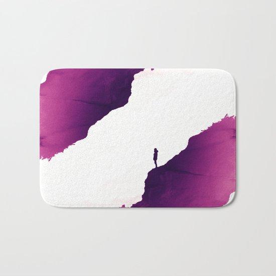 Purple Isolation Bath Mat