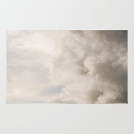 Blue Sky with Gray Clouds Rug