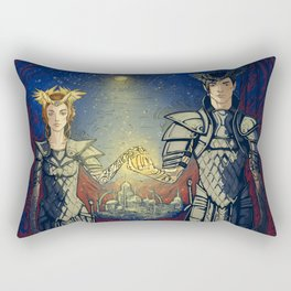 night lord & lady Rectangular Pillow