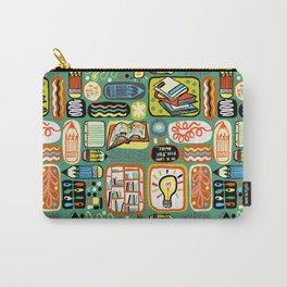 Reading and Writing Carry-All Pouch