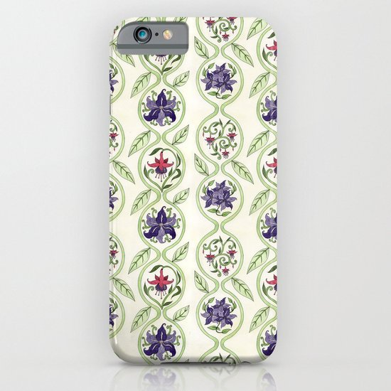 Nouveau Florals iPhone & iPod Case