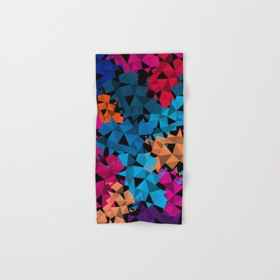 Colorful geometric Shapes Hand & Bath Towel