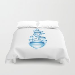 Bubbles for freedom Duvet Cover