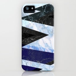 Marble stone ( frozen ) iPhone Case