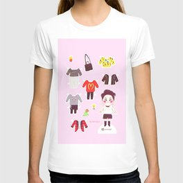 Key Paper Doll T-shirt
