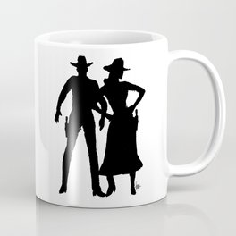 Stockyards Couple Coffee Mug