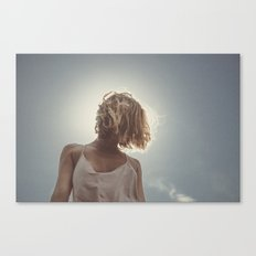 the light in you Canvas Print