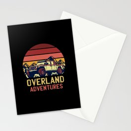 Overland Adventures Retro Best Gift Stationery Cards