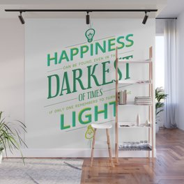 Happiness can be found... Wall Mural