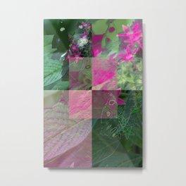 Pinky in the grain Metal Print