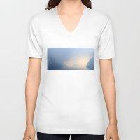 fog V-neck T-shirts featuring Fog by L'Ale shop