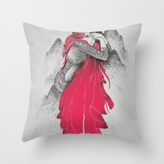 The Game Is Over Throw Pillow