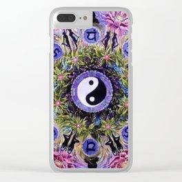 Mandala 12 Clear iPhone Case