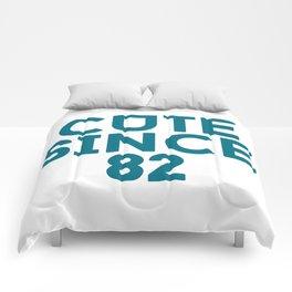 Cute Since 82 Comforters