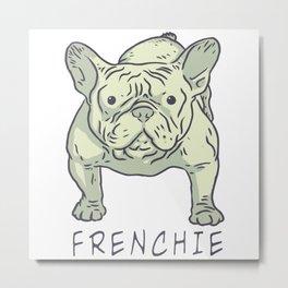 frenchie Metal Print
