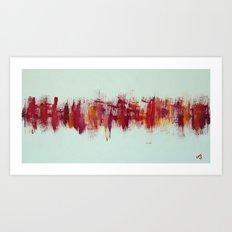 City IV - Spanish Sunset Art Print