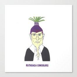 Rutabaga Ginsburg1 Canvas Print
