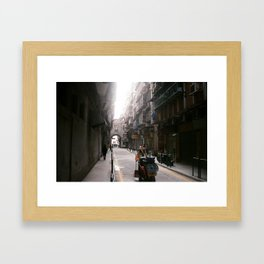This side of town Framed Art Print