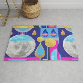 Abstractions No. 3: Moon Rug