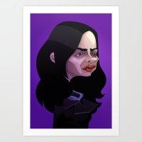 Tough girl Art Print