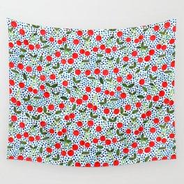 Cherries! by Veronique de Jong Wall Tapestry