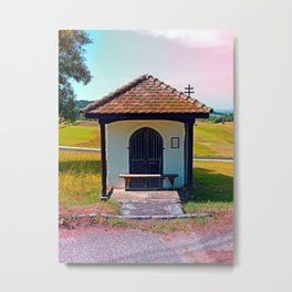 Old little chapel, reloaded Metal Print