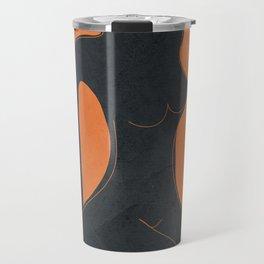 Abstract Nude II Travel Mug