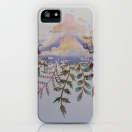 Being Delicate 1 iPhone Case