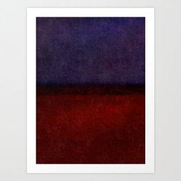 Imagining Rothko #11 Art Print