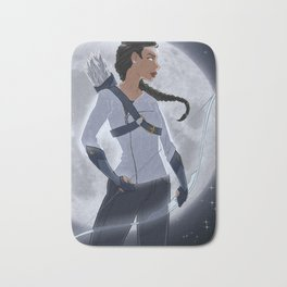 Artemis, Goddess of the Moon Bath Mat