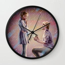 PB and J Wall Clock