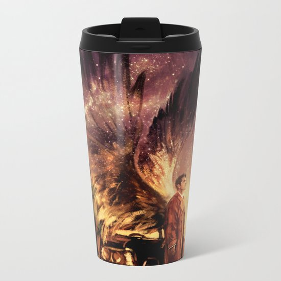 Carry On My Wayward Son Metal Travel Mug