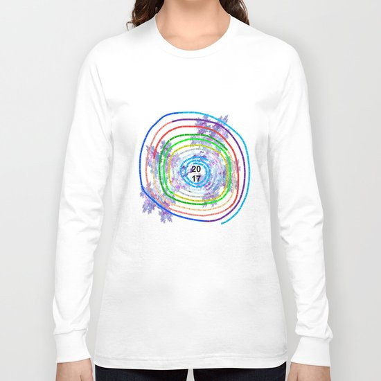 Calendar in a circle Long Sleeve T-shirt