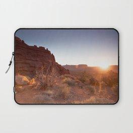 Setting Desert Sun Laptop Sleeve