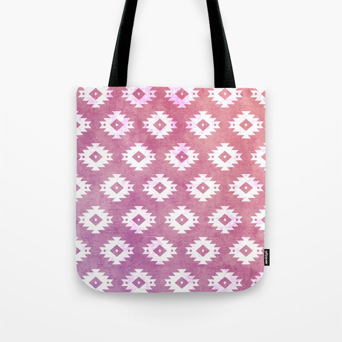 Aztec Pattern 10 Tote Bag