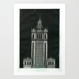 Etching & Aquatint Art Print