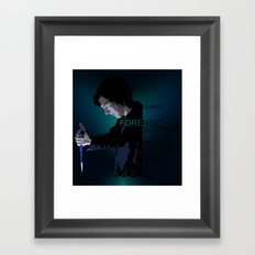 I liked Forensic Science before it was Cool Framed Art Print