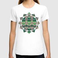 bamboo T-shirts featuring Bamboo by Zandonai Pattern Designs