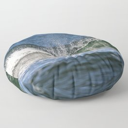 Beach Wave 0379 Floor Pillow