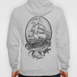 GUIDED BY WHALES Hoody