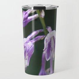 Purple Hosta Flowers Travel Mug