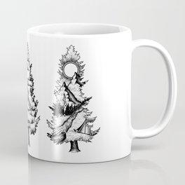 Fir  Silhouettes Coffee Mug