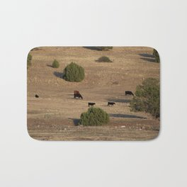 Utah Cows and Trees Bath Mat
