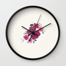 Spring is around the corner Wall Clock