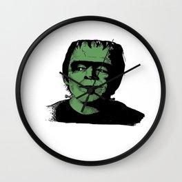 Herman Munster - white Wall Clock