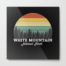 WHITE MOUNTAIN NEW Metal Print