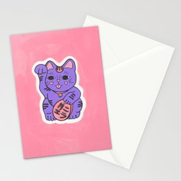 Manekineko 2 Stationery Cards
