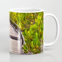 Mangrove Forest Sunset Coffee Mug